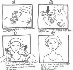 How To Plop Your Hair For Magical Curls
