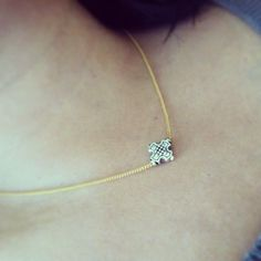 The Eden cross necklace by jewelsdejuliet on Instagram and Facebook