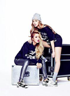 Wonder Girls' Yubin & Heize for Reebok Classic Inferno