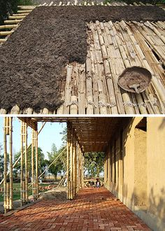 bamboo architecture sustainable construction and design news bamboo architecture sustainable construction and design news The post bamboo architecture sustainable construction and design news appeared first on Architecture Diy. Diy Pergola, Pergola With Roof, Covered Pergola, Pergola Kits, Pergola Ideas, Bamboo Decking, Bamboo Poles, Bamboo Building, Natural Building