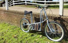 the grey electric bicycle by philip crewe.