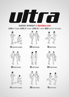 DAREBEE Workouts Body For Life Workout, Hiit Workout At Home, Workout For Flat Stomach, Gym Workout Tips, At Home Workouts, Cardio, Hero Workouts, Training Workouts, Yoga Workouts