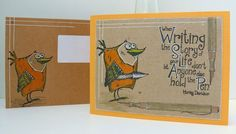 Alie Hoogenboezem-de Vries: A skinny card and mail art...