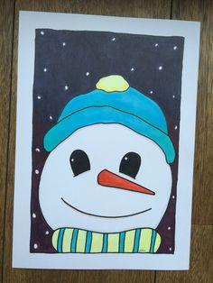Kerst sneeuwpop snowman christmas