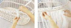 Resultado de imagen para canasta decorada para bebe