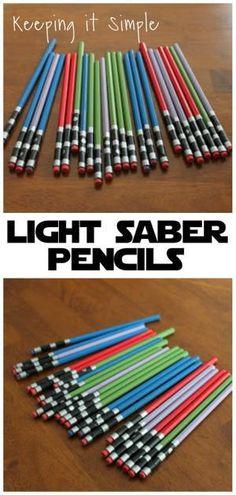 Light Saber Pencils