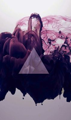Purple, triangle