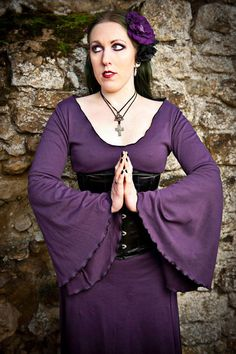 dark rose dress made to order in sizes 630 and by CuteandEvil, £75.00