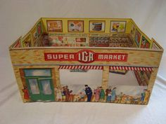 IGA Supermarket toy....In the 1960's we either shopped at the IGA or the A & P