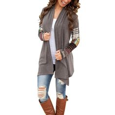 Check out one of our new  Women Long Sleeve..., Just in and ready to order @ http://scooterbug-designs.myshopify.com/products/women-long-sleeve-knit-cardigan-wrap?utm_campaign=social_autopilot&utm_source=pin&utm_medium=pin