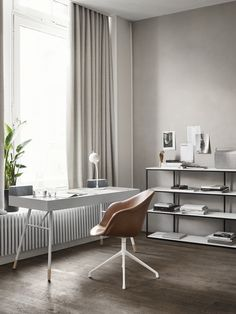 Design your own home office space with desks from BoConcept. Boconcept, Minimalist Furniture, Modern Furniture, Furniture Design, Luxury Furniture, Large Table, Declutter Your Home, Corner Sofa, Furniture Inspiration