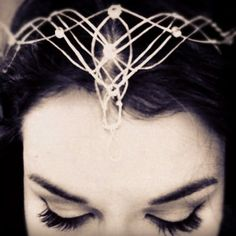 Oh yes! Someday perhaps... It's amazing what human beings can create, isn't it? This Elvish Crown was created from scratch from Rachel Poling, who has generously provided the plans on her blog. Gorgeous!