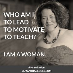 Who am I? #HerInvitation #IAMAWOMAN