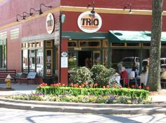 My first job ever at 15 in 1997:) Trio, Greenville, South Carolina: Best Pasta Dishes