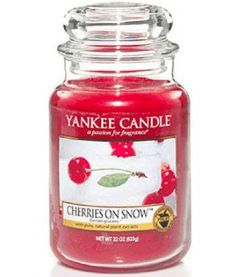 Yankee Candle ~ Cherries On Snow™ Favorite Yankee Candle other than Pink Sands :)
