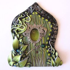 Hey, I found this really awesome Etsy listing at https://www.etsy.com/listing/194150322/the-green-fairy-fairy-door-pixie-portal