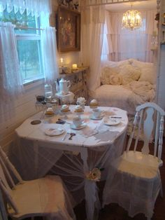Tea for Two in my sweet retreat