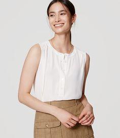 Image of Modern Henley Shell color Whisper White