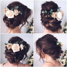 Boho style wedding hair                                                                                                                                                                                 (Bridesmaid Hair)