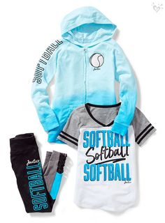 Home run outfits for her sporty side.