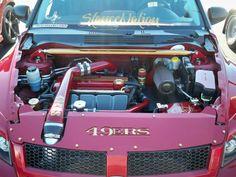49ers  Engine bay Caliber SRT-4