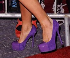 The perfect purple. If only I knew who made these.