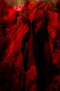 La Grande Madre - Terra Daniela Gorla Digital Art