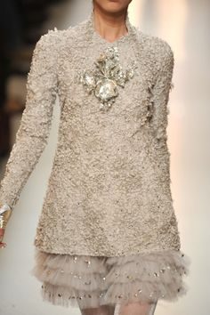 Perfect for a winter wedding rehearsal!     chanel