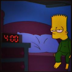 simpsons, bart, and grunge image Sad Wallpaper, Simpson Wallpaper Iphone, Iphone Wallpaper, Walpaper Iphone, The Simpsons, Simpsons Quotes, My Mood, Vaporwave, Reaction Pictures