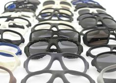Protos Eyewear - very cool looking 3d-printed sunglasses. Available in 24 models.