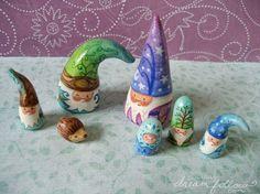 Image result for paper mache gnomes
