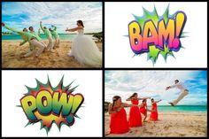 Kick-ass Bride and Bridesmaids :)