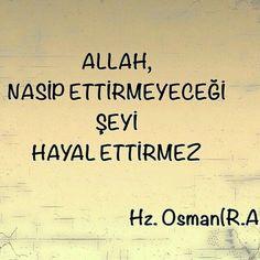 Allah'ım boş hallerin peşinde koşturma bizi ...