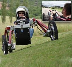 Forget the batmobile, the SPIDERCAR is the ultimate off roader: Car can handle any terrain with independent suspension for each wheel | Fully electric the Swincar is quiet and emission free, and its battery will give 4 hours of drive time [Futuristic Vehicles: http://futuristicnews.com/category/future-transportation/ Electric Cars: http://futuristicnews.com/tag/electric-vehicle/]