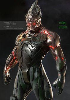 Tossakan by Mars M. | Robotic/Cyborg | 3D | CGSociety