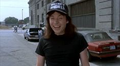 New party member! Tags: thumbs up waynes world mike myers