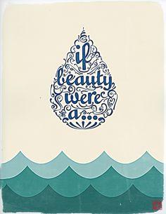 If Beauty Were...