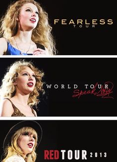 <13 She's 'The Lucky One', we Stay Stay Stay to see her be 'Fearless'.<13 It's 'Treacherous' because 'Everything Has Changed' but she 'Speak(s) Now' and 'Sparks Fly'. You may have 'Changed' but we will still love you 'Forever & Always'. <13