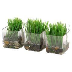Silk Kelly Grass Arrangement (Set of 3)
