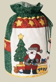 Santa Sack - by Kids Quilts - Christmas Bag/Sack Pattern