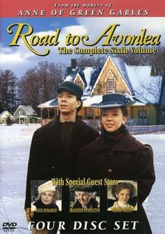 Road to Avonlea Season 6 - Spin-off from Anne of Green Gables Maureen Stapleton, Sarah Polley, Road To Avonlea, The Decemberists, Faye Dunaway, Period Movies, Dvd Set, Anne Of Green Gables, Special Guest