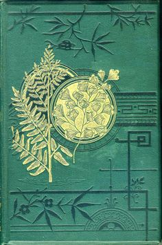 British Ferns and Their Allies.Thomas Moore 1881 Beautiful, use as inspiration for a card Book Cover Art, Book Cover Design, Book Design, Book Art, Vintage Book Covers, Vintage Books, Old Books, Antique Books, Jugendstil Design