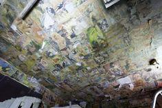 The room of vintage porn abandoned hospital UK  #abandoned #vintage #porn #hospital #photography