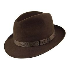 bec6aa1a617 Christys Hats Epsom Fedora - Brown