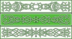 Celtic Border Designs | Stock vector of 'celtic, knot, border'