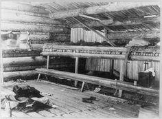 Interior-View-Loggers-Camp-Mud-Pond-October-1889-Joseph-John-Kirkbridge