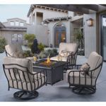 $4399.99 Costco Cortez 5-piece Patio Conversational Seating with Firepit Table