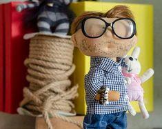 Personalized custom portrait rag doll by photo by OKhandmadeDolls First Love, Dolls, Portrait, Illustration, Handmade Gifts, Baby Dolls, Kid Craft Gifts, First Crush, Headshot Photography