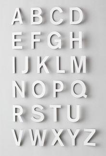 alphabet! paper art work by fidelisundqvist.com