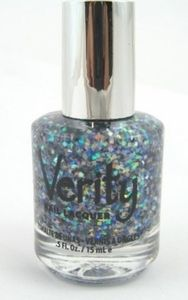 Verity Nail Lacquer - Twinkle Squares SE37 (Special Edition Mixed Glitters)
